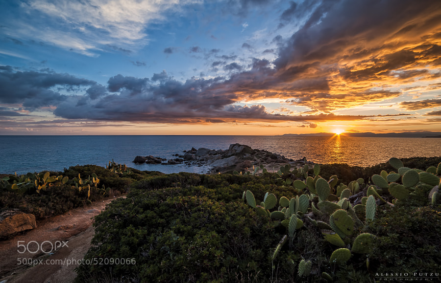 Photograph Is Mortorius Sunset by Alessio Putzu on 500px