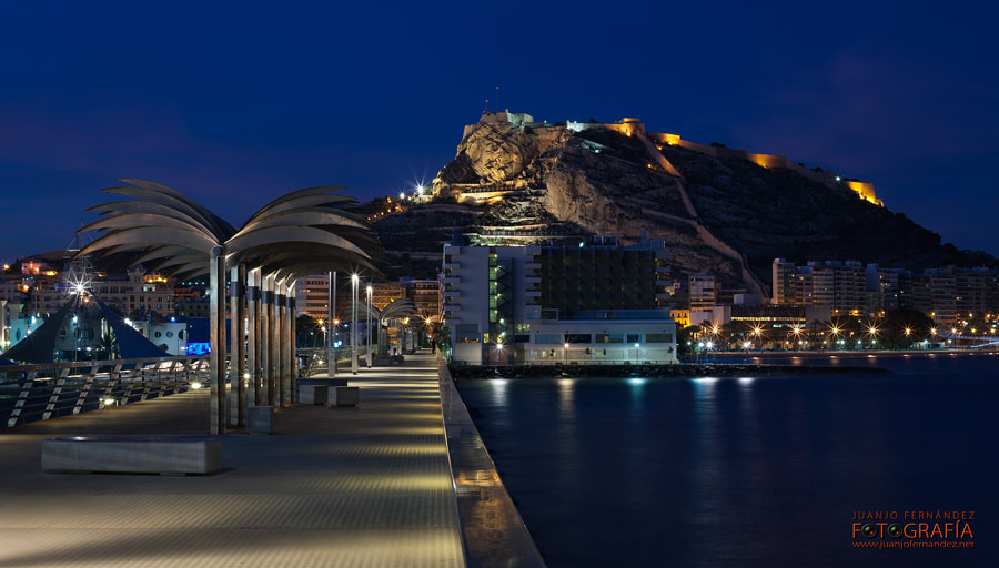 Photograph Alicante night by Juanjo Fernández  on 500px