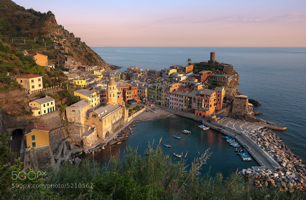 Photograph Golden Embrace - Cinque Terre by Elia Locardi on 500px