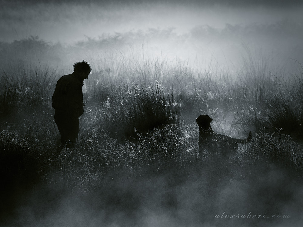 Photograph One Man and his Dog by alex saberi on 500px