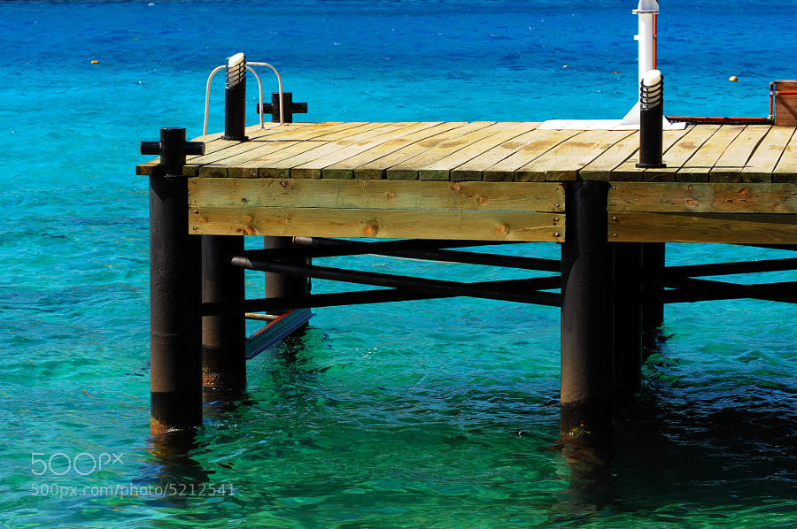 Dock in Cozumel