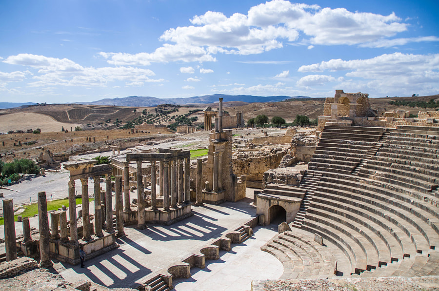 Dougga by Olga Zhukova on 500px.com