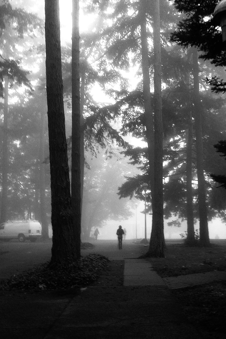 Photograph UVic 8:32am by Kenneth Huang on 500px