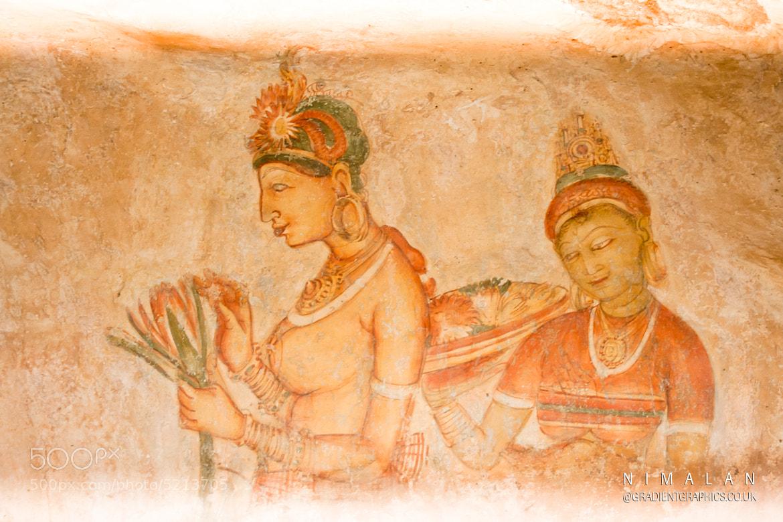 Photograph Fresco Paintings at Sigiriya Rock, Seegiriya by Nimalan Tharmalingam on 500px