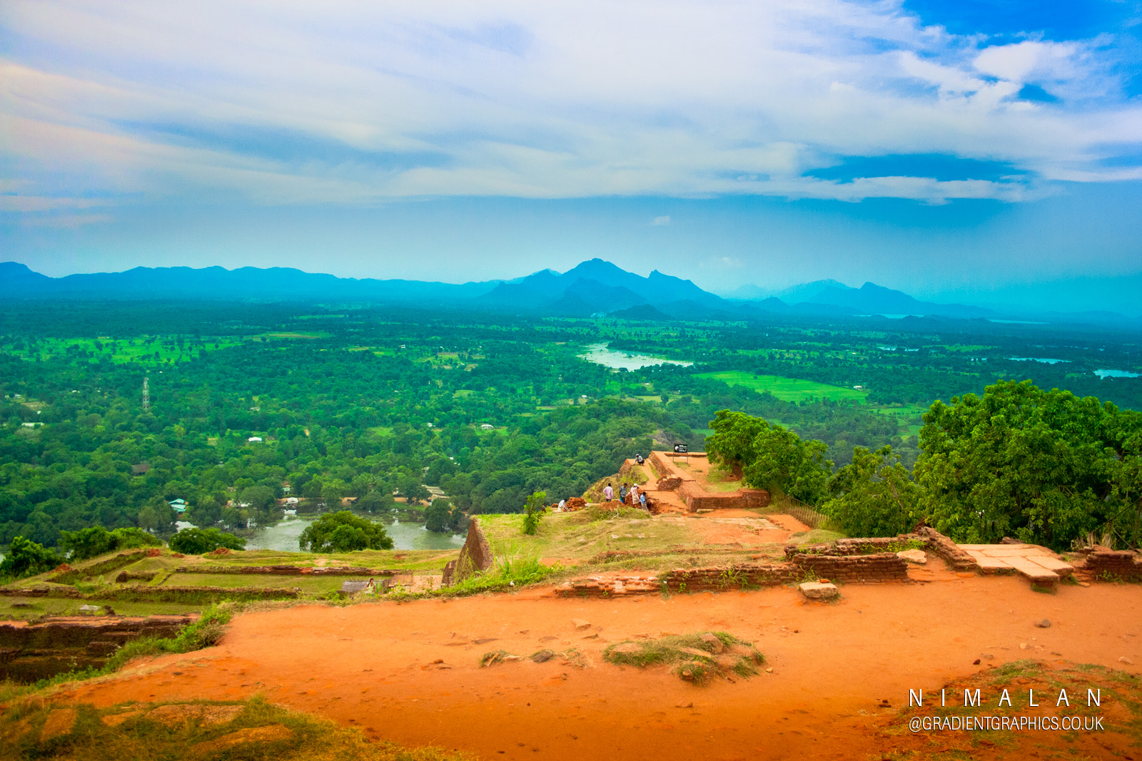 Photograph View from Sigiriya,The Lion Rock citadel, Sri Lanka by Nimalan Tharmalingam on 500px