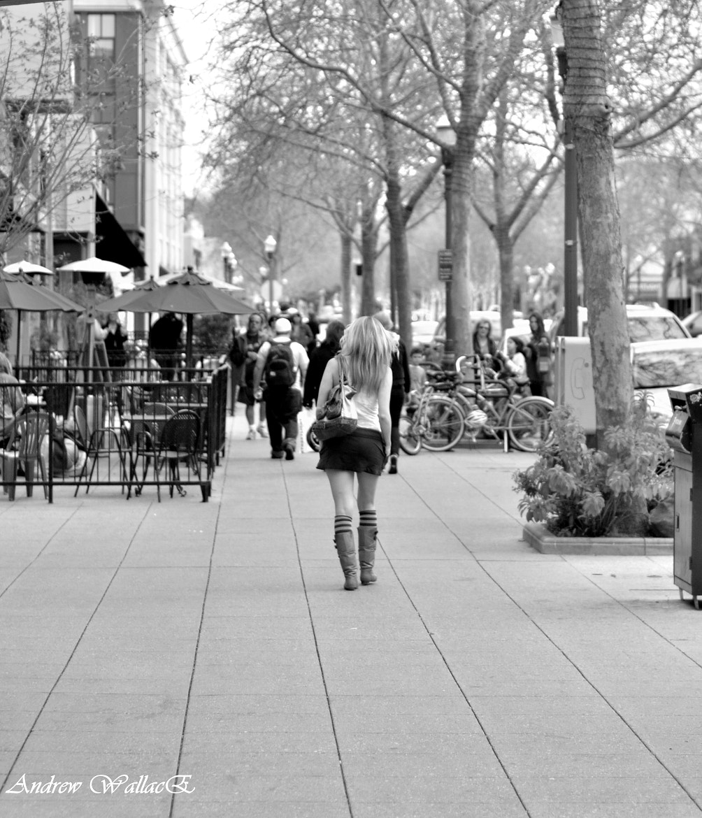 Photograph walking alone in a world full of people by Andrew WallacE on 500px