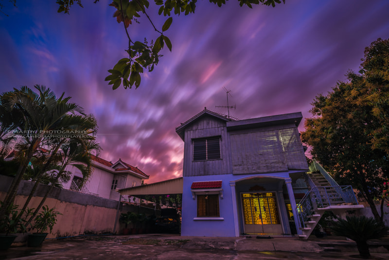 Photograph Amazing sunset behind my house! by Mardy Suong Photography on 500px