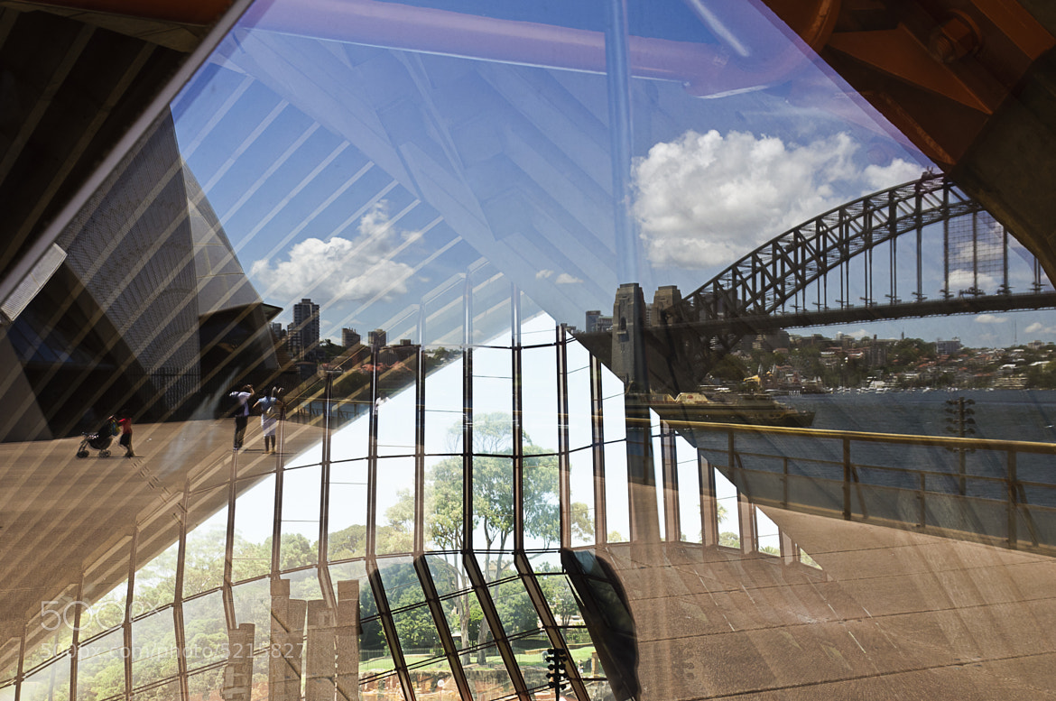 Photograph Sydney Opera and Bridge Reflections by Slaurel Serial-Photographer on 500px