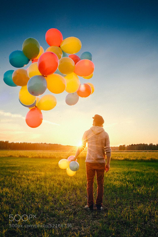 Photograph Balloons! by Iiro  Rautiainen on 500px