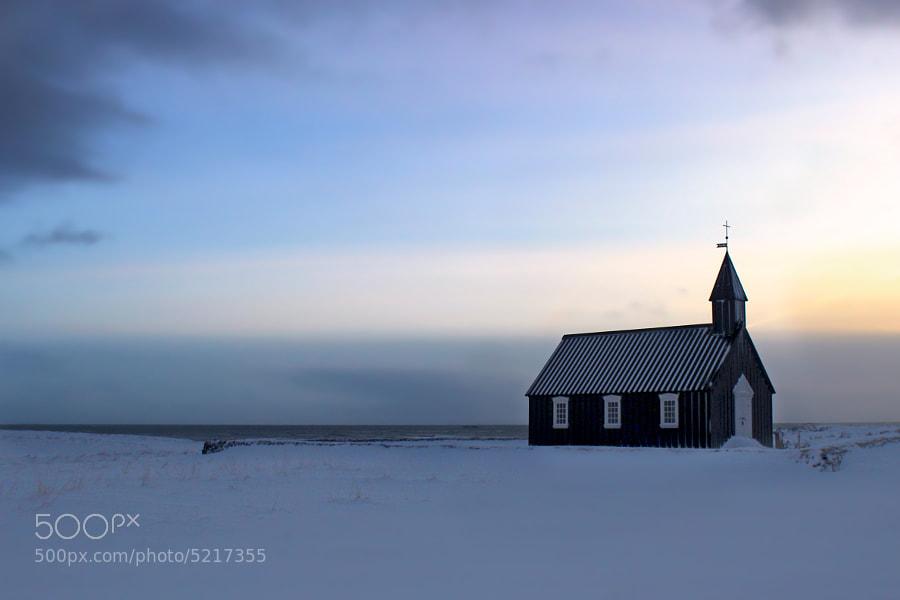 Iceland Winterchurch by Schorsch K. (sektor29)) on 500px.com