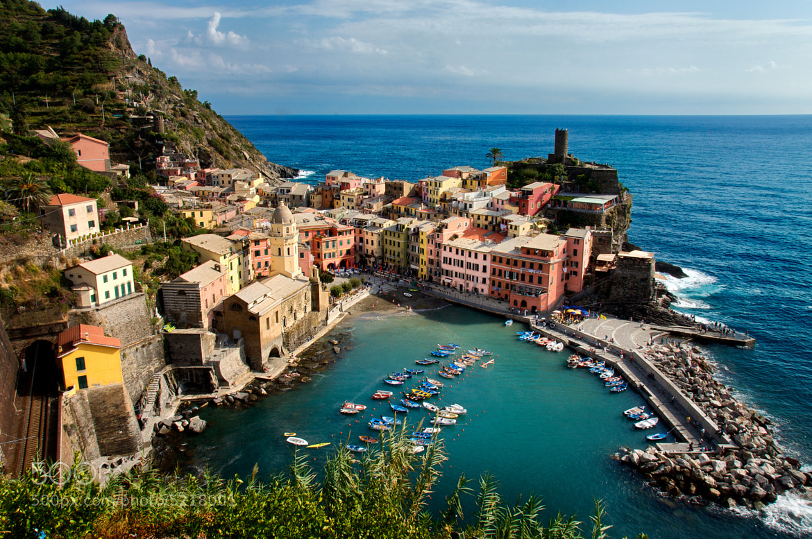 Photograph vernazza by Charlie Man on 500px