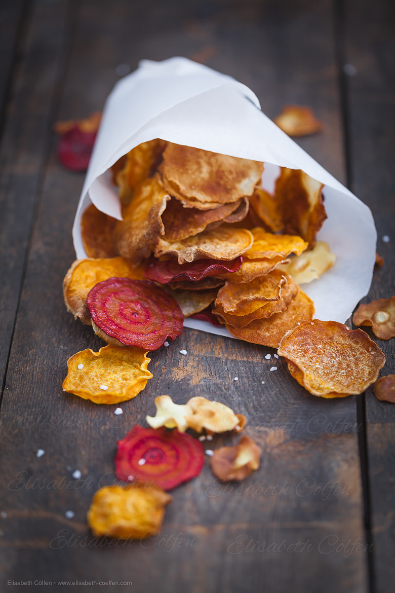 Photograph Healthy root vegetable chips by Elisabeth Coelfen on 500px
