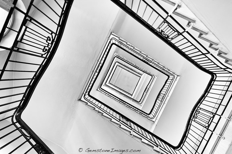 Photograph Up Stairs by Scott Dimond on 500px