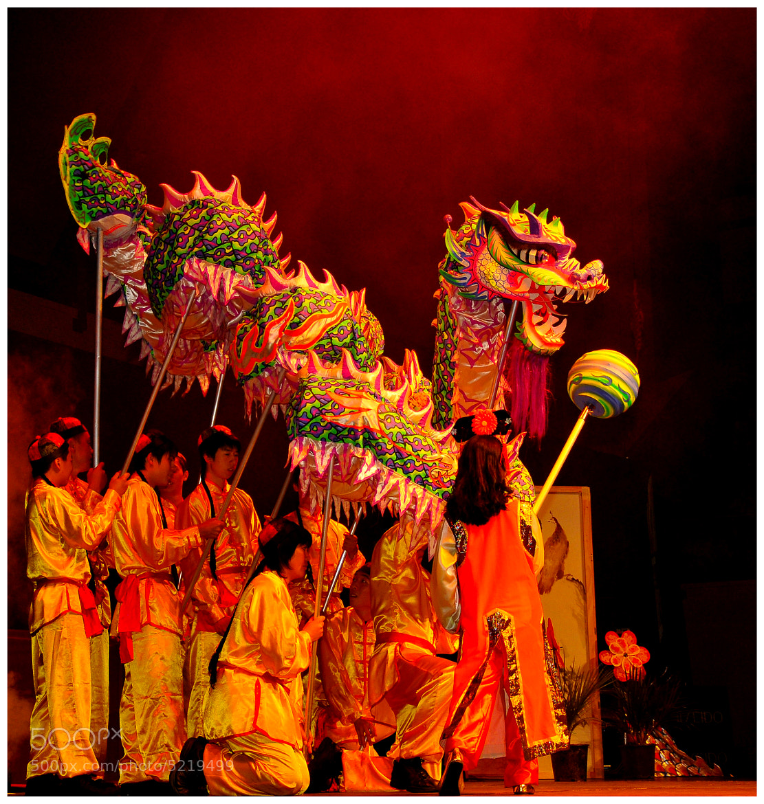 Photograph Dragon Festival by Bernard Golder on 500px