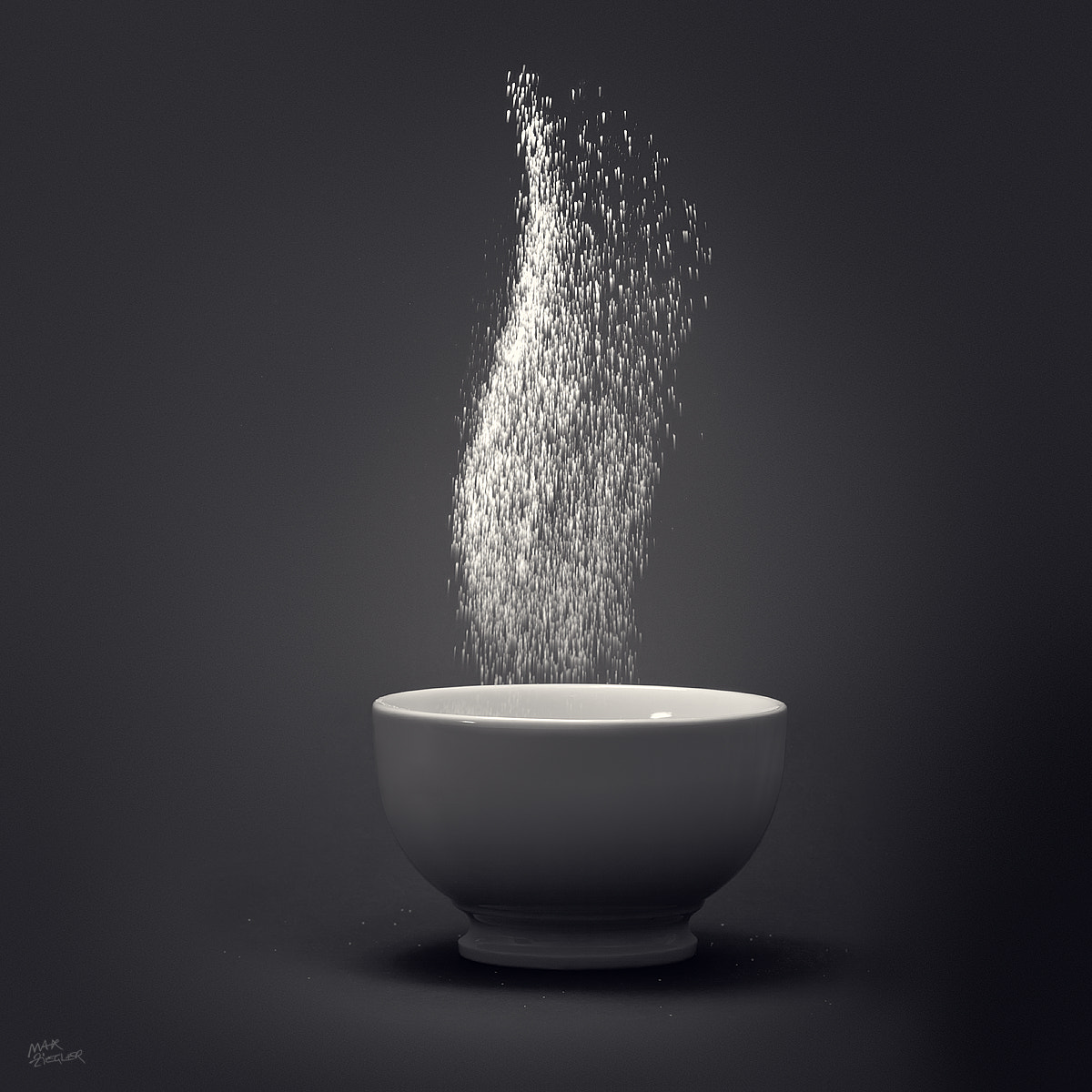 Photograph salt b&w by Max Ziegler on 500px