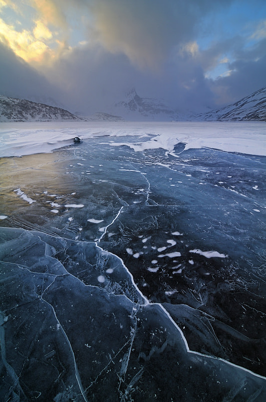 Photograph broken ice by Marco Barone on 500px