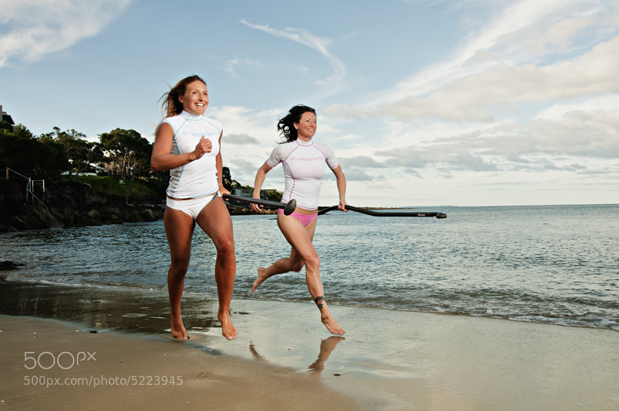 Photograph Starboard Team Paddlers Nikki & Annabel by XAVIER WALLACH on 500px