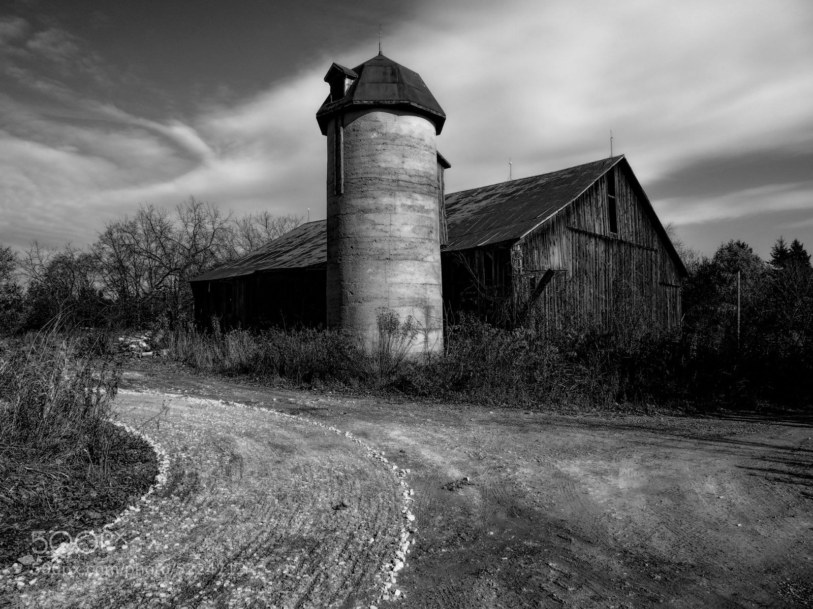 Photograph Barn on the Corner by Grant MacDonald on 500px
