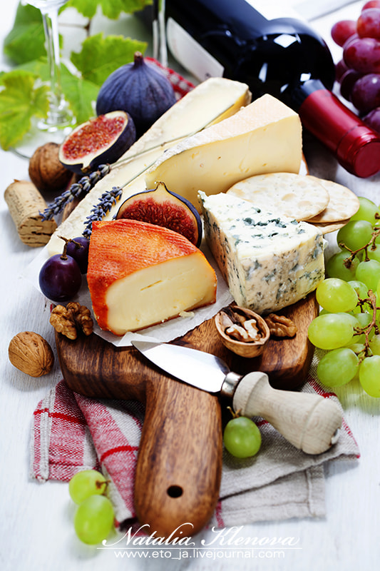 Photograph Wine and cheese plate by Natalia Klenova on 500px