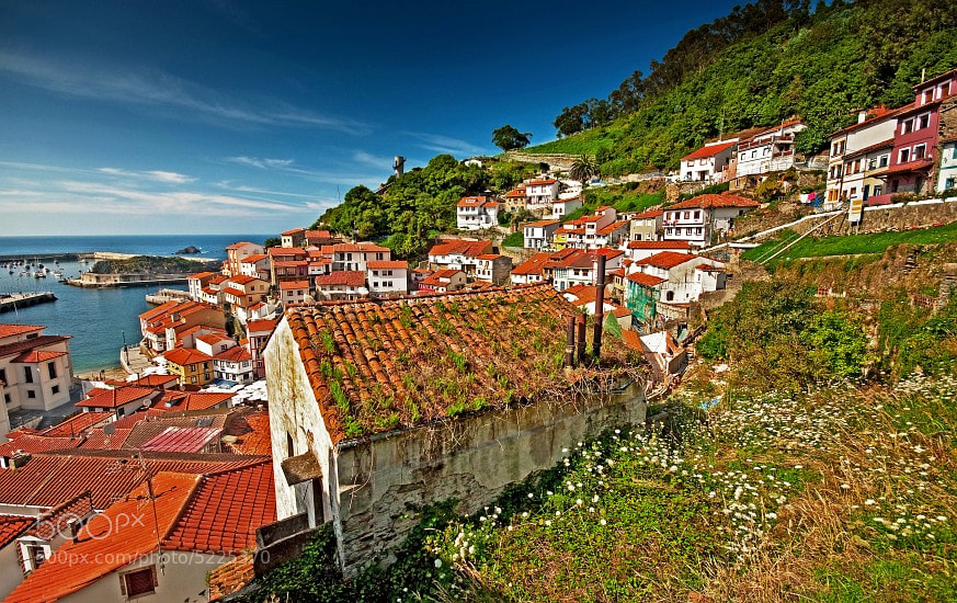 Photograph Cudillero by Botond Horváth on 500px