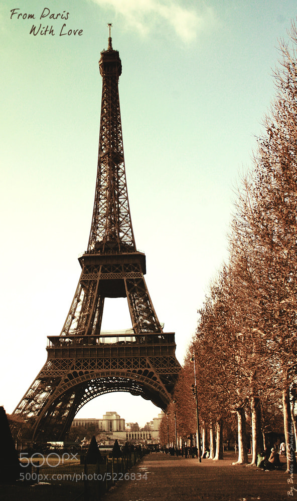 Photograph From Paris with Love by Bader Al-Shaibani on 500px