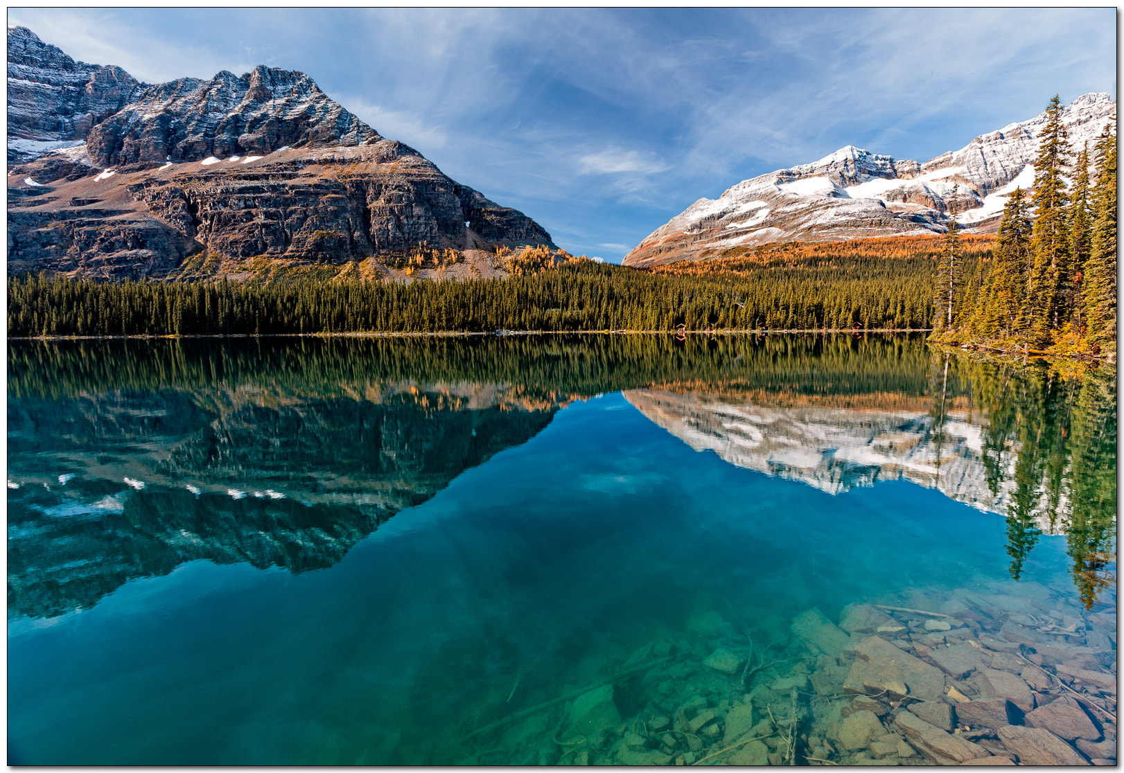 Photograph Lake O'Hara morning by Jameel Hyder on 500px