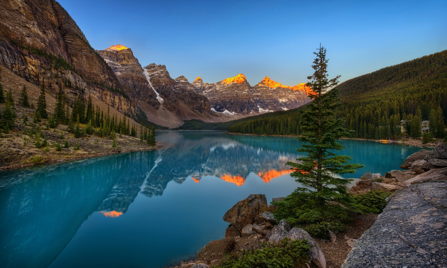 Photograph Moraine Lake by Aman Anuraj on 500px