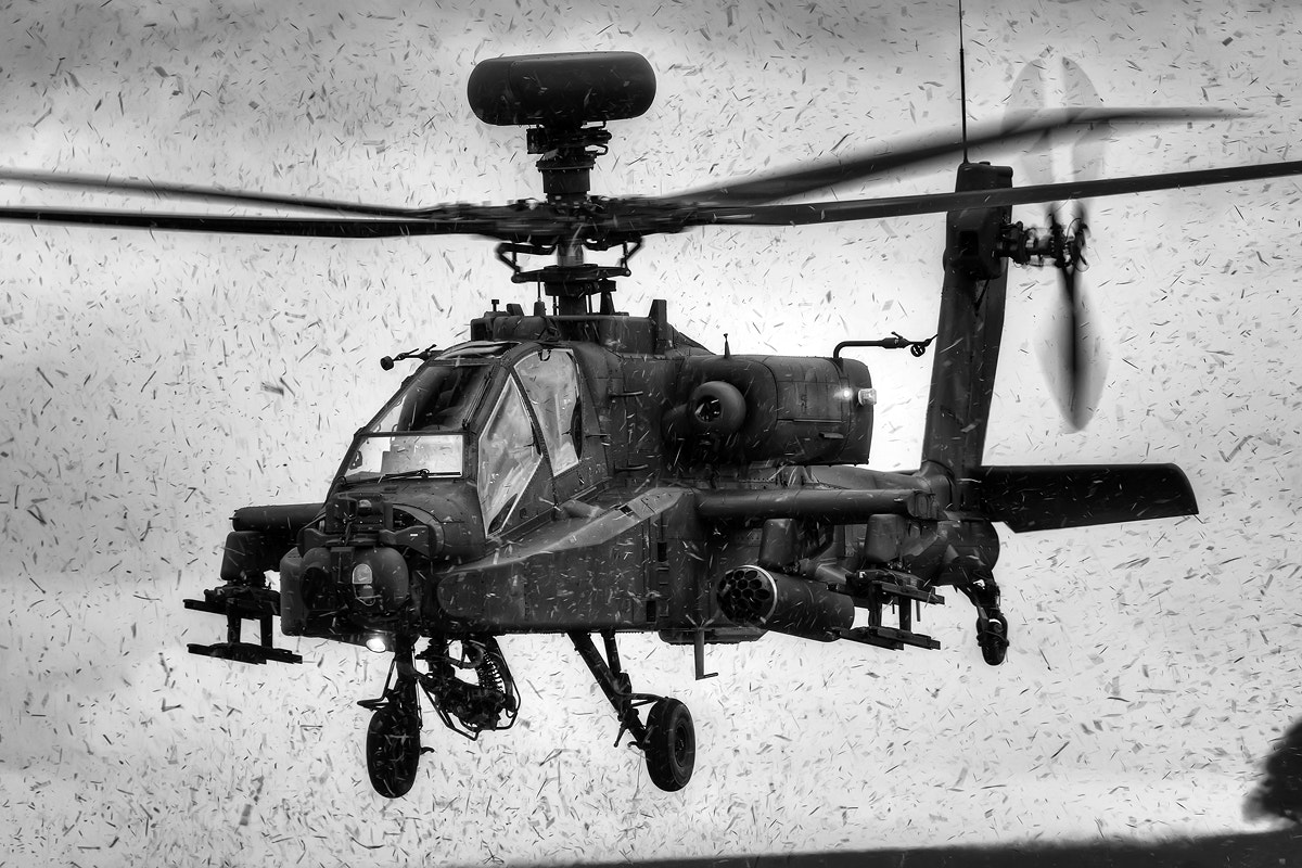 Photograph Army Westland Apache Attack Helicopter by Lloyd Horgan on 500px