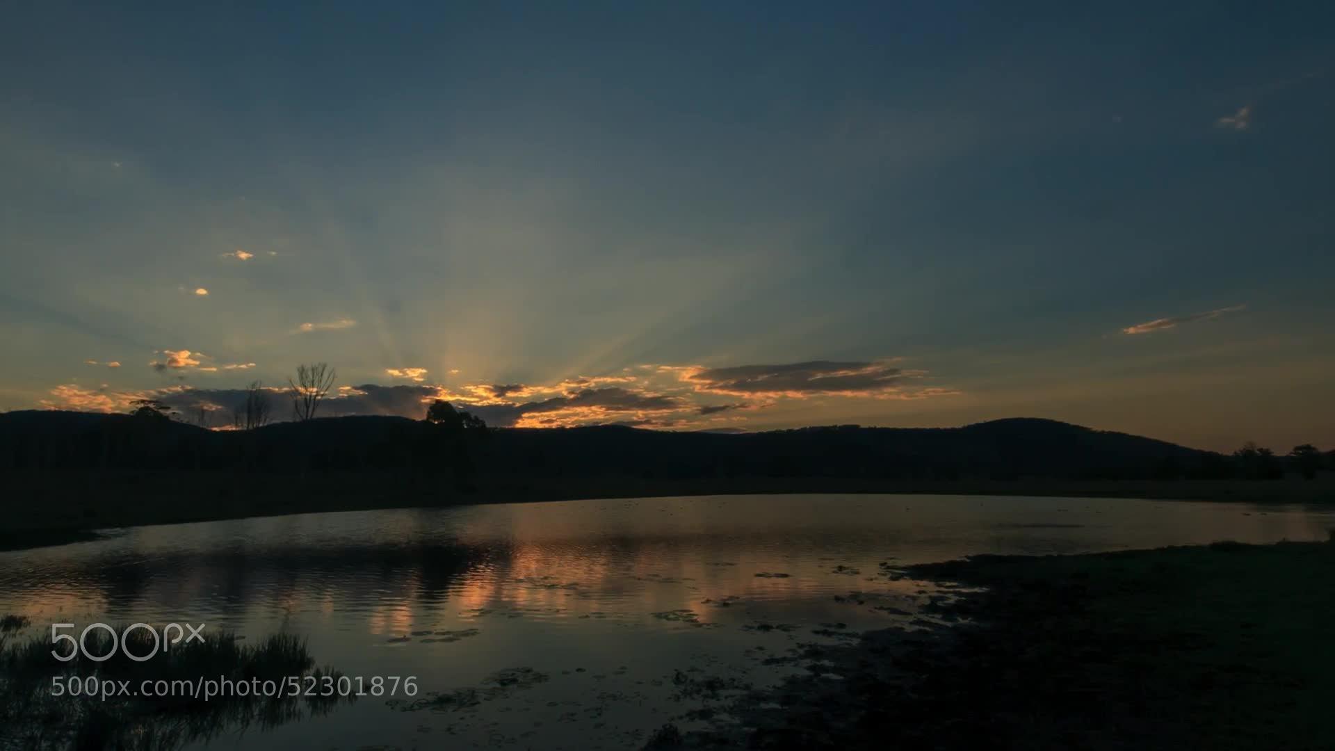 Photograph Lower Wonga Sunset by Matthew Post on 500px