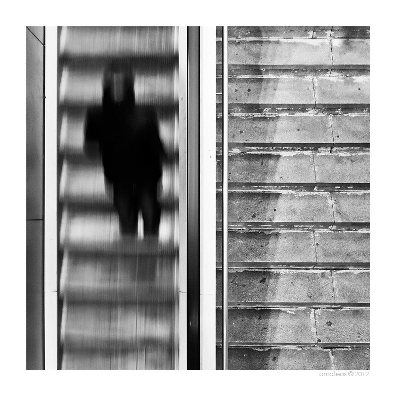 Photograph Escaleras... by Adrian Mateos on 500px