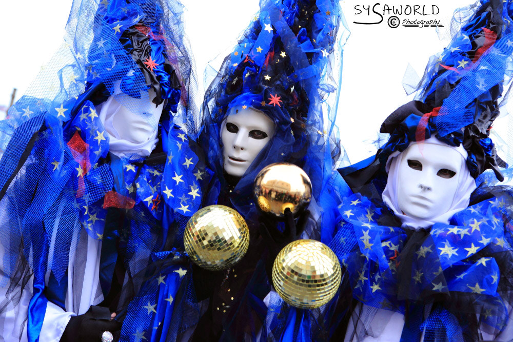 Photograph Masks in Venice Carnival 2012 by Roberto Sysa Moiola on 500px