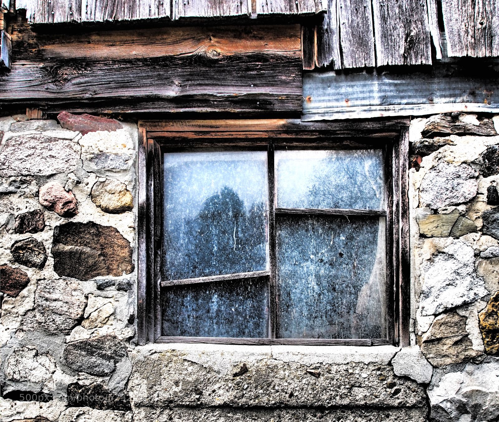 Photograph Barn Window by Grant MacDonald on 500px
