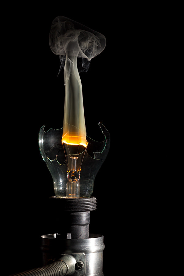 Photograph Burning Lamp by Giuseppe Di Marco on 500px