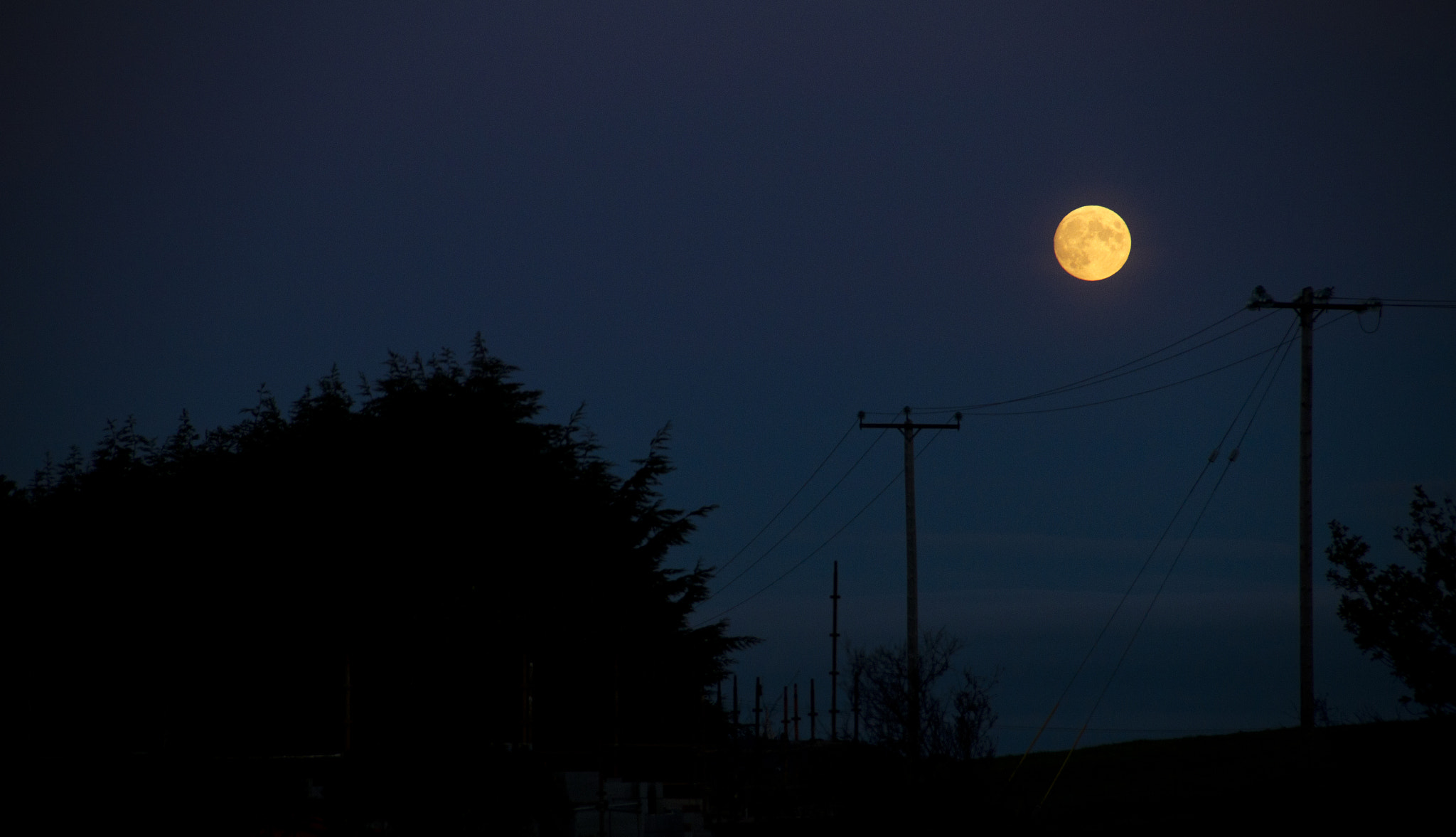 Photograph Moonrise by Eoin McDonagh on 500px