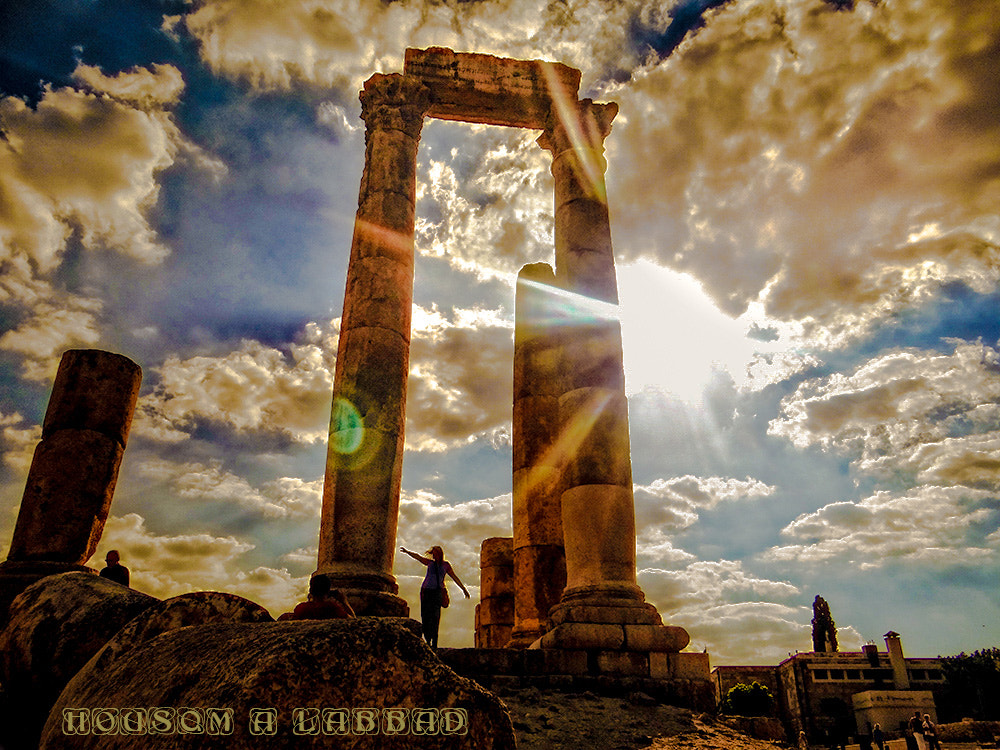 Photograph Temple Of Hercules by Housam A Labbad on 500px
