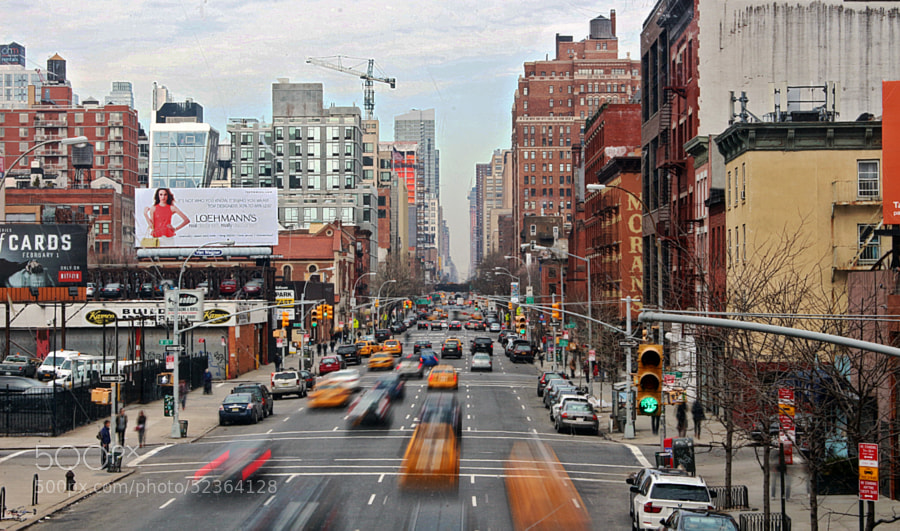 NYC Traffic by Deni Spasovski on 500px.com