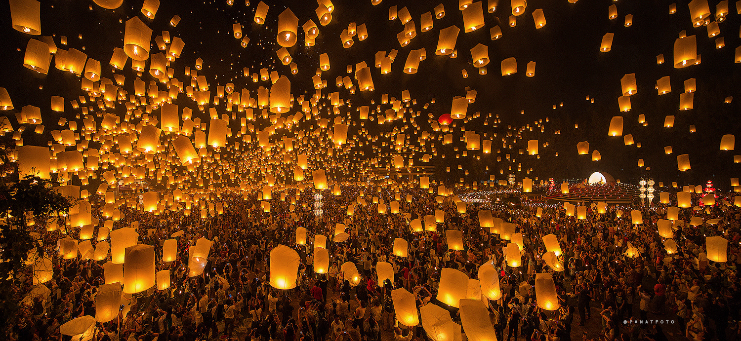 Photograph Yee Peng Festival 2013 by PanatFoto Acare on 500px