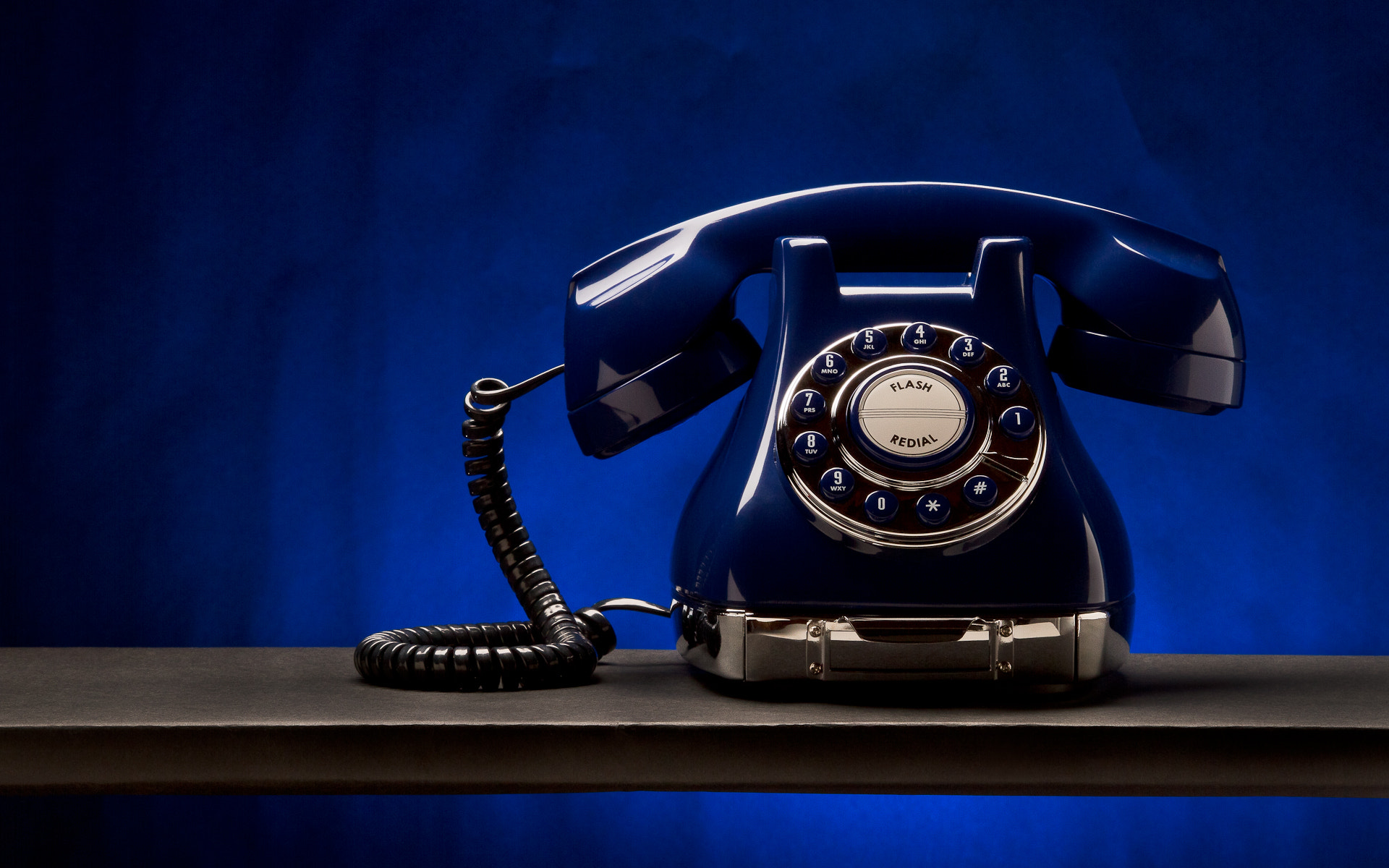 Photograph blue phone by Casey Lam on 500px
