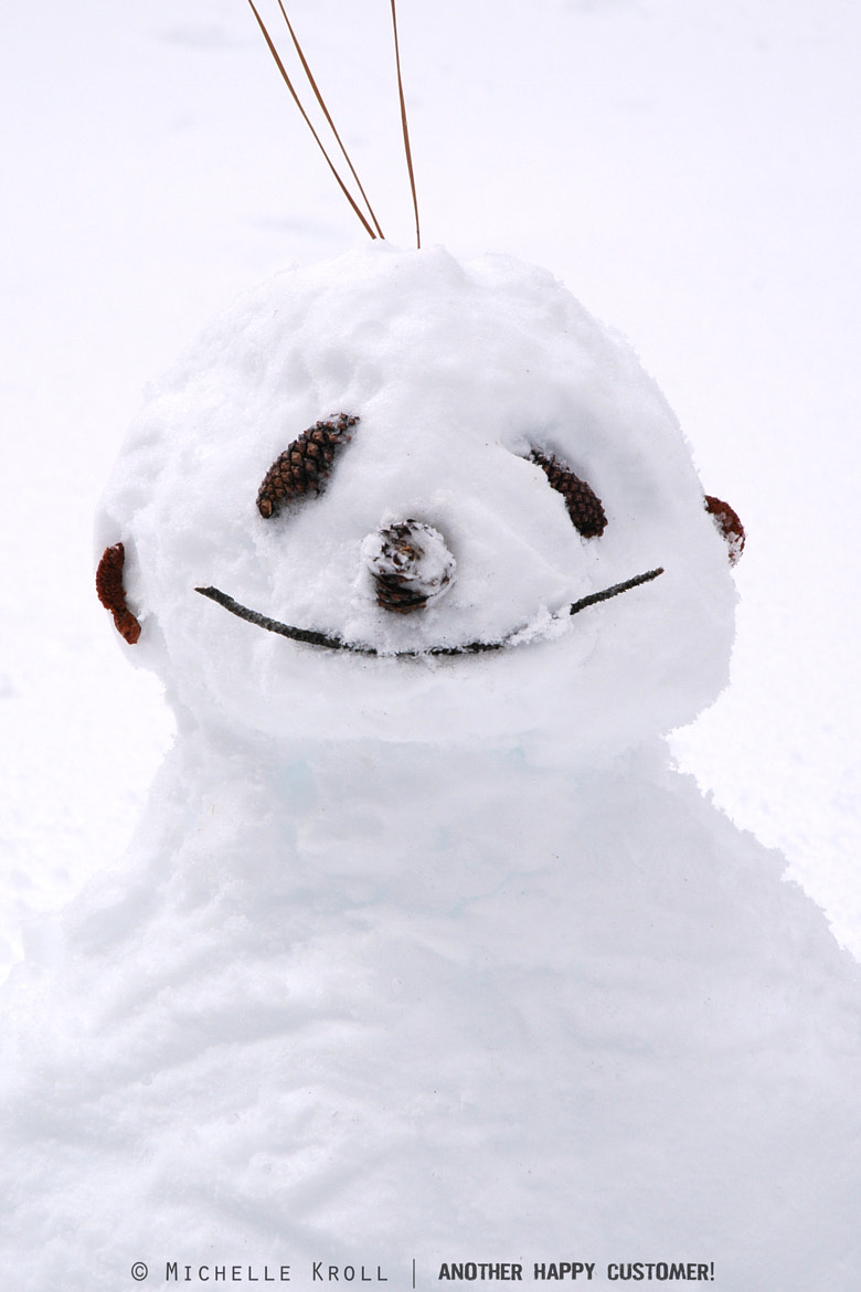 Photograph Happy Snowman! by Michelle Kroll on 500px