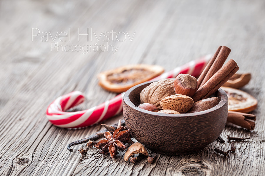 Christmas still life by Pavel Hlystov on 500px.com