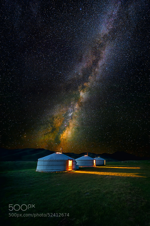 Photograph Mongolian Skies II by Leah Kennedy on 500px