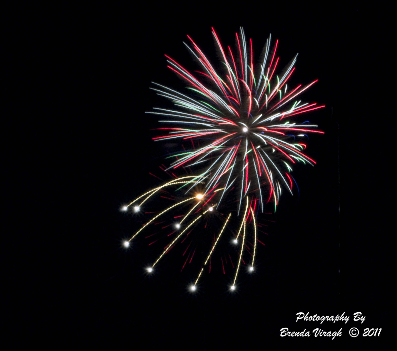Photograph Fireworks by Brenda Viragh on 500px