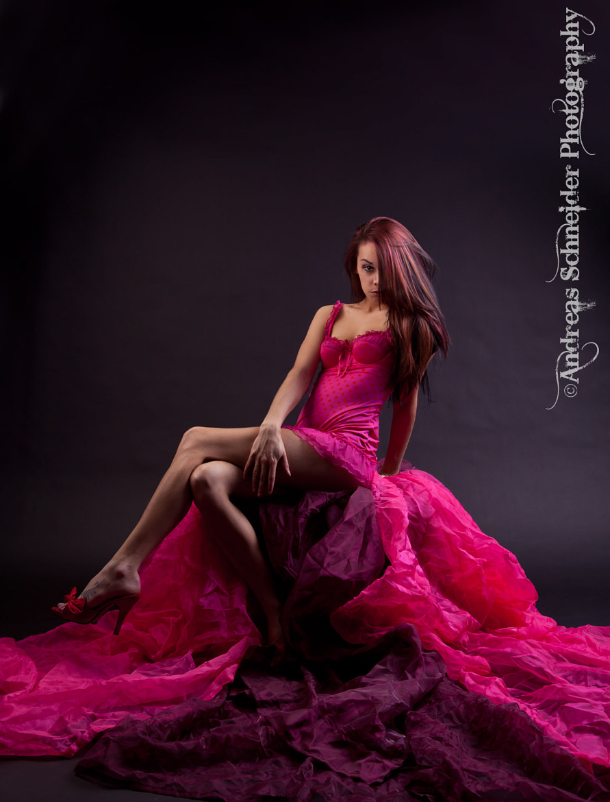 Photograph Goddess sits on her throne of pink rivers. by StudioDreas Photography on 500px