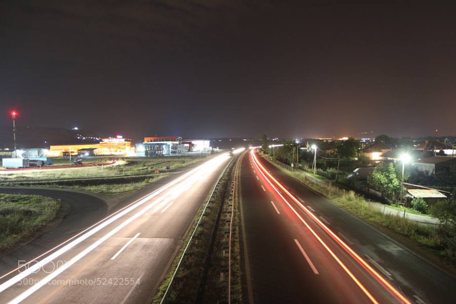 Highway Long Exposure by Deni Spasovski on 500px.com