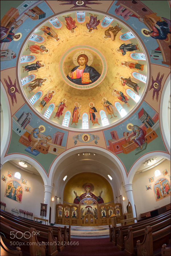 St. Katherine's Greek Orthodox Church.