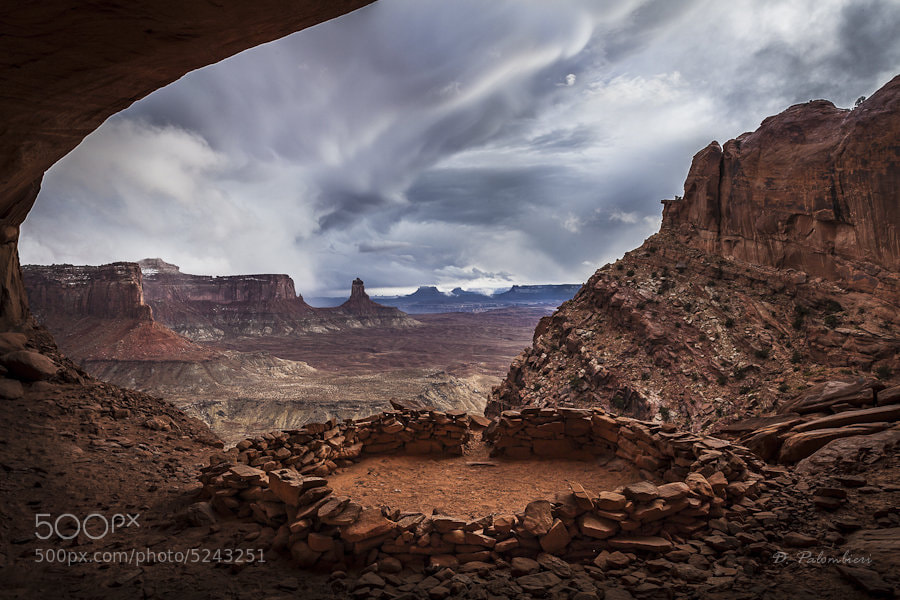 Photograph False Kiva - Canyonlands - UT by Dominique  Palombieri on 500px