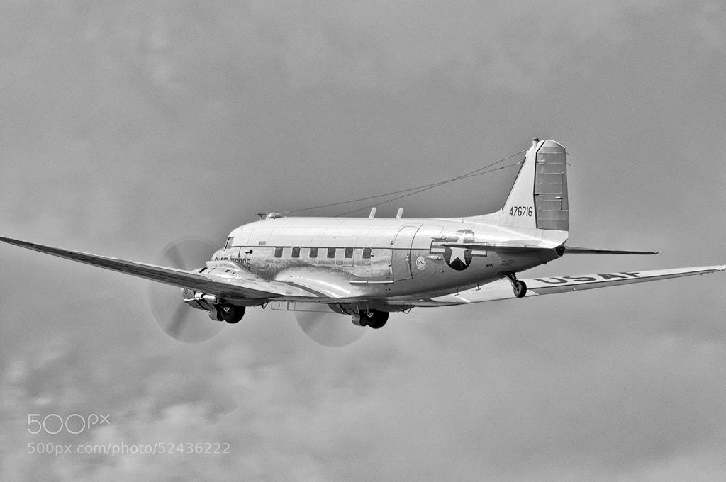 Photograph Douglas C-47D Skytrain by Darek Siusta on 500px