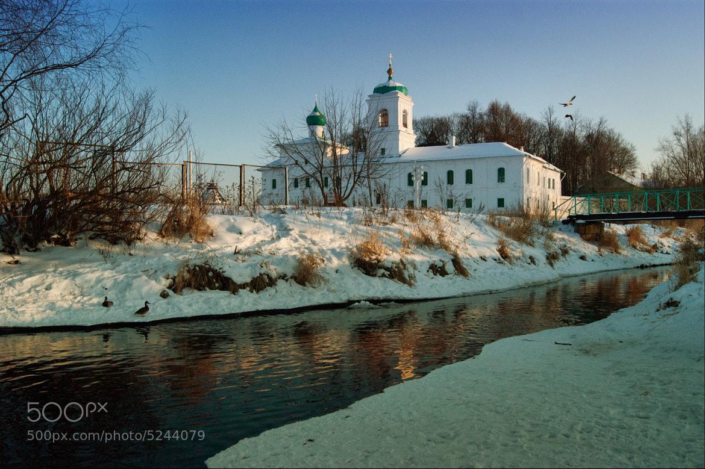 Photograph The spaso-Preobrazhenskiy Mirozhsky monaste, Pskov, Russia by Sergey Suhanov on 500px