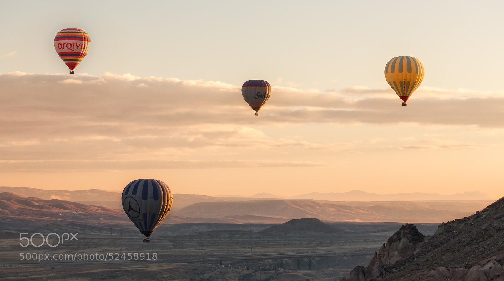 Photograph Balloon Flight II by Daniel Hannabuss on 500px