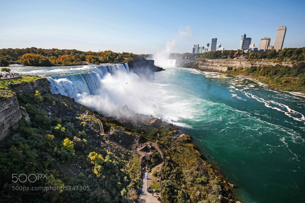 Photograph niagara falls by Dara Pilugina on 500px